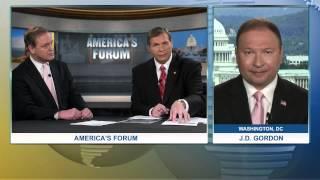 America's Forum | J.D. Gordon and Glen Downs talk about U.S. Warships heading to Yemen