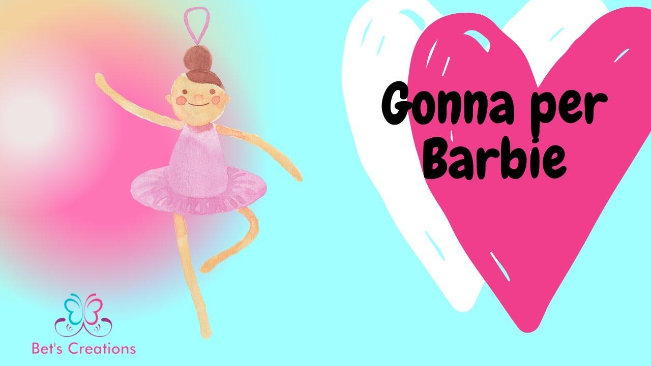 Come Realizzare Dei Vestiti Per Barbie Gonna In Jeans Youtube
