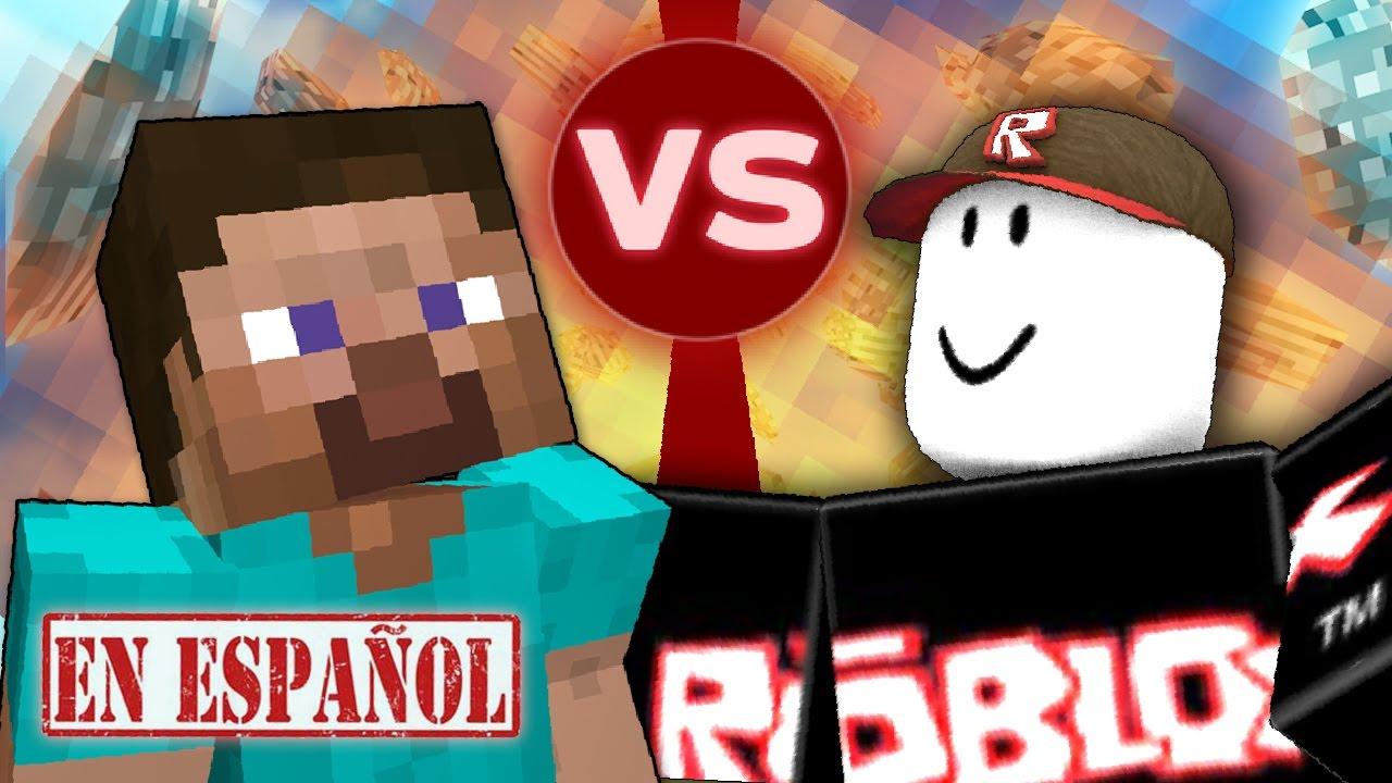 Minecraft vs Roblox - YouTube