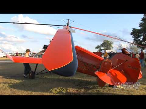 Aero-TV: Profiles in Aviation - Pitcairn PA-18 Autogiro (Part 1)