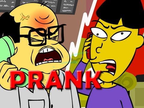 Angry Asian Restaurant Prank Call (ANIMATED)