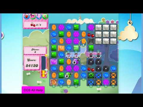 Candy Crush Saga Level 2815 NO BOOSTERS Cookie