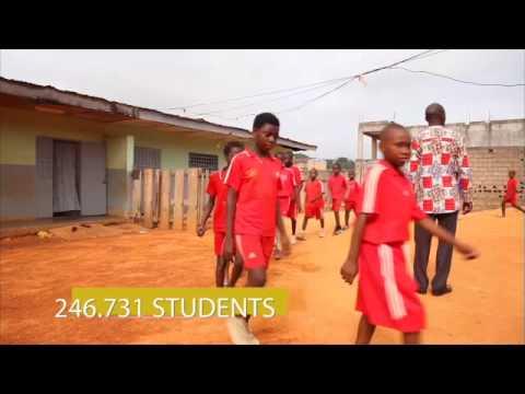 Adventistas na Região Oeste-Centro da África - West-Central Africa Division Report
