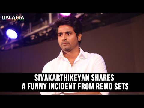 Sivakarthikeyan shares a funny incident from Remo sets