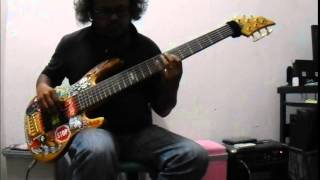 Steven Wilson - No Twilight Within The Courts Of The Sun (bass cover)