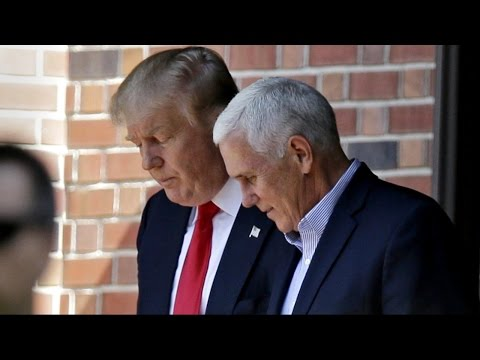Pence Accepts Trump's Offer for VP Spot