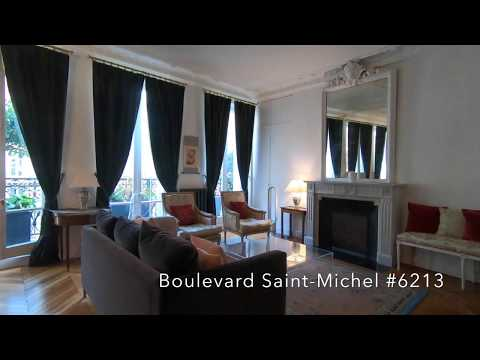 Apartment Blvd Saint-Michel, Paris #6213 GLAMAPARIS