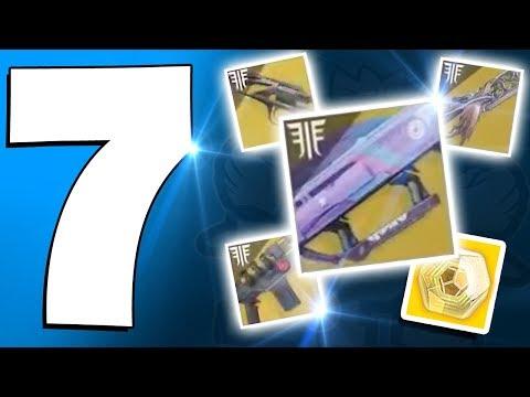Destiny 2 - 7 Forsaken DLC New EXOTIC Weapons