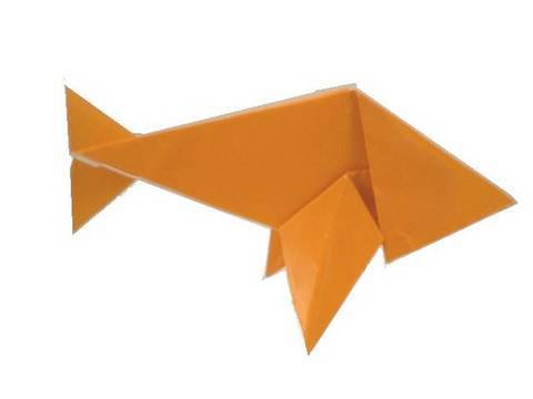 Origami fish youtube for Origami fish instructions