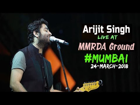 Arijit Singh Live Concert at MMRDA Ground Mumbai 24-March-2018