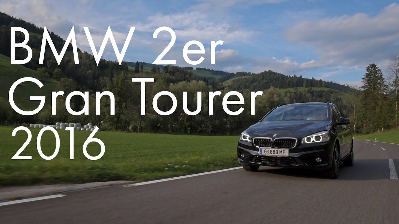 Bmw 2er Gran Tourer 2016 Test Youtube