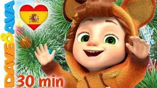🎊 Dulce Navidad y Más Villancicos de Navidad | Canciones de Navidad | Dave y Ava 🎊