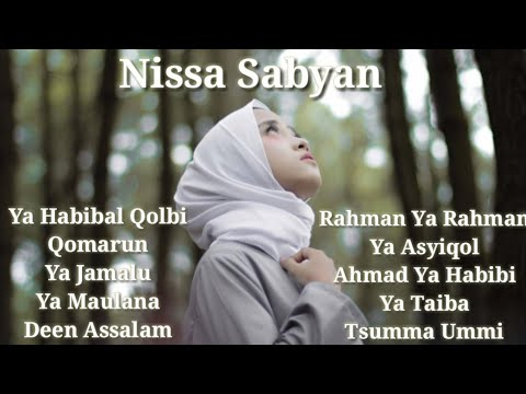 Full Album Lirik Sholawat Nissa Sabyan (Video Lirik)