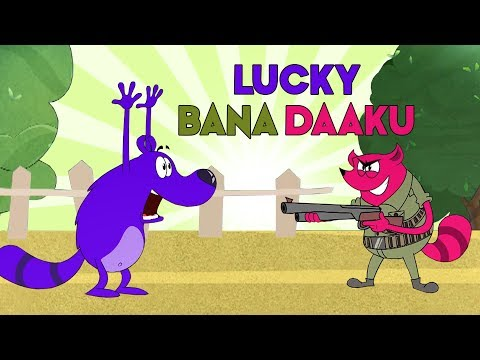 Pyaar Mohabbat Happy Lucky - Ep. 100 | Lucky Bana Daaku | Funny Hindi Cartoon Show