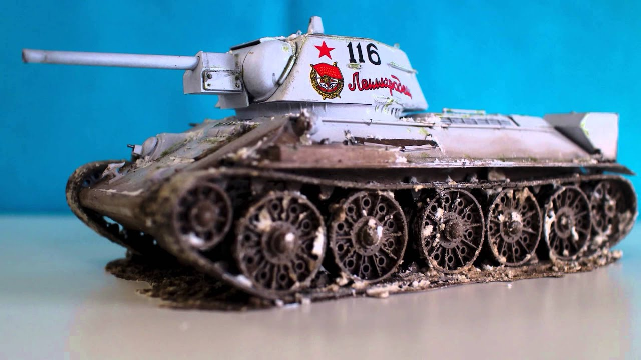Soviet Mudium Tank T-34/76 Model 1943 (REVELL 1:35) - YouTube
