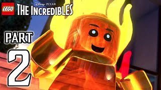 LEGO The Incredibles Walkthrough PART 2 (PS4 Pro) No Commentary @ 1080p HD ✔