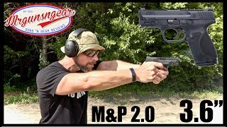Smith & Wesson's New M&P 2.0 Compact 9mm 3.6'' Pistol Review: Glock 19 Killer?