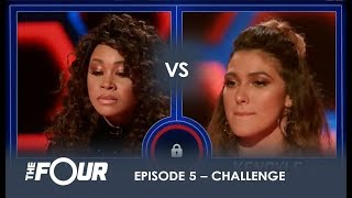 Evvie vs Kendyle: The Most UNEXPECTED Battle Of The Night! | S1E5 | The Four