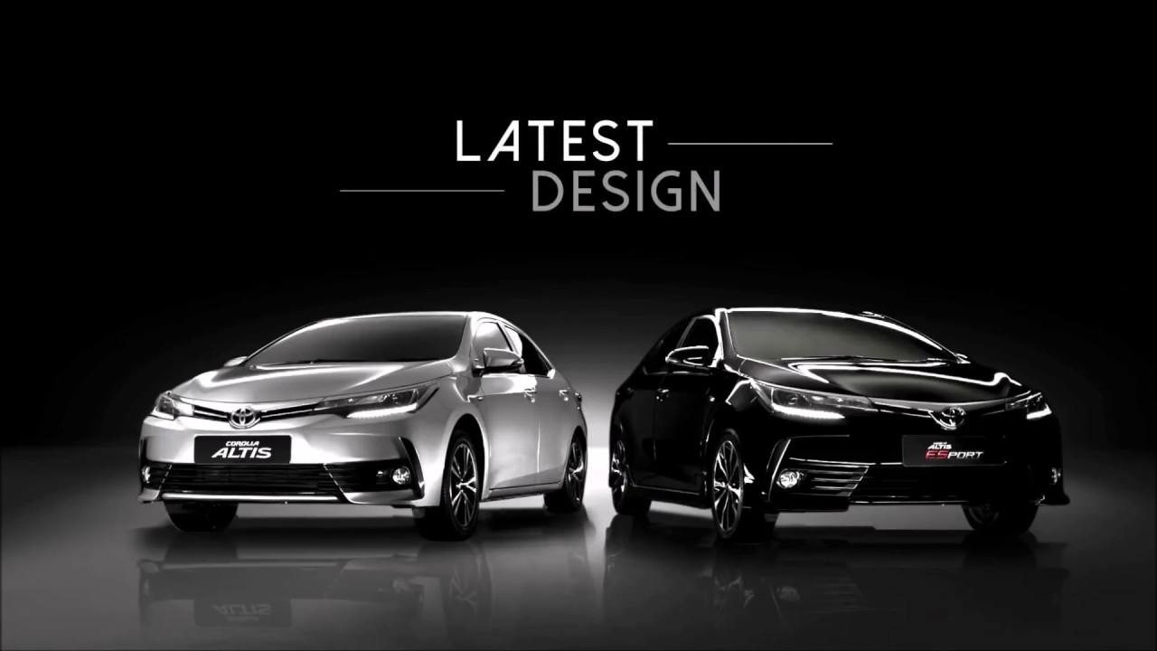 2018 toyota corolla altis exterior interior and drive. Black Bedroom Furniture Sets. Home Design Ideas