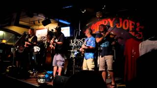 """jackie Bones"" Uproot Hootenanny W/ Mike Garulli And Jeff Lloyd Sloppy Joe's, Key West 8/10/12"