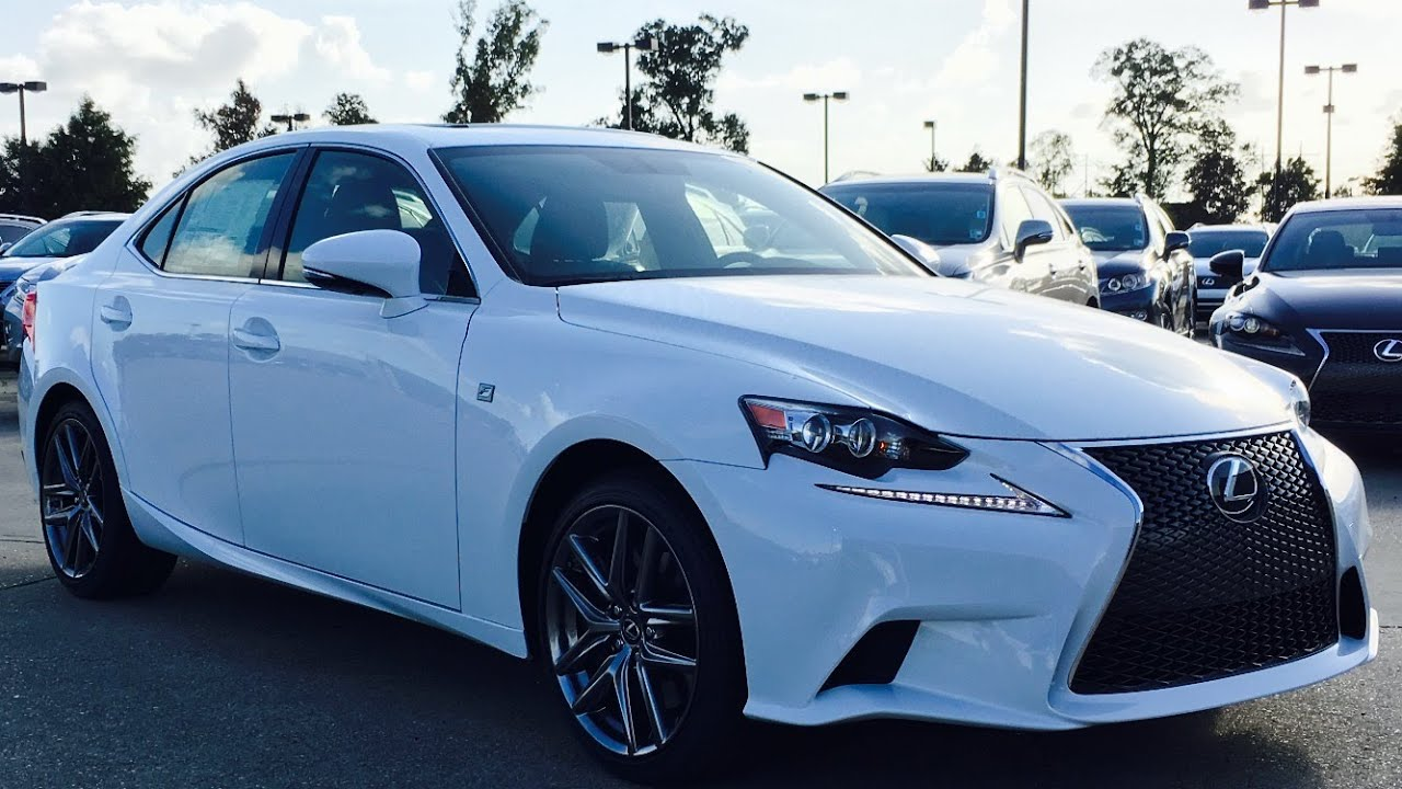 2016 Lexus Is200t F Sport Full Review Start Up Exhaust