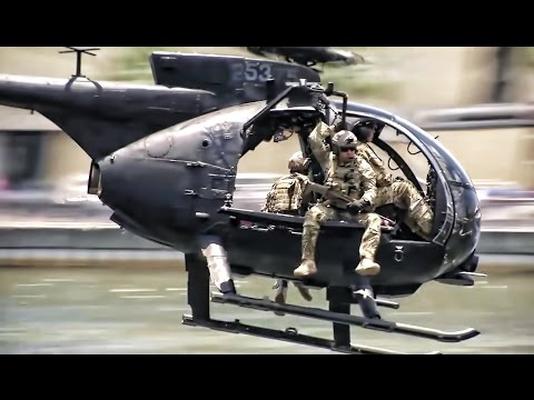 Special Operations Forces Demonstration In Downtown Tampa