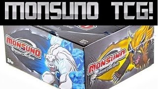 Monsuno Trading Card Game TCG Booster Box opening! Part 1 of 2!