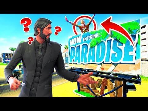 *NEW* HIDE & SEEK In Paradise Palms - FORTNITE PLAYGROUND V2 Custom Game