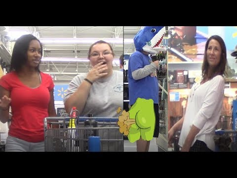 Wets Prank Flatulence Friday Ep  F F   Soundsangry People Of Walmartsharkshark Head