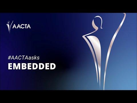 #AACTAasks   Embedded