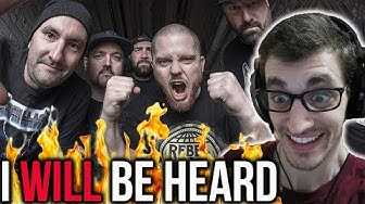 """Hip-Hop Head's FIRST TIME Hearing HATEBREED: """"I Will Be Heard"""" REACTION"""