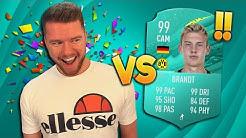 FIFA 20: PROOWNEZ vs 99 JULIAN BRANDT (PRO PLAYER CARD) 🔥🔥