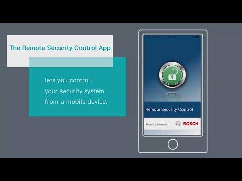 bosch security logo. bosch security - remote control: overview logo