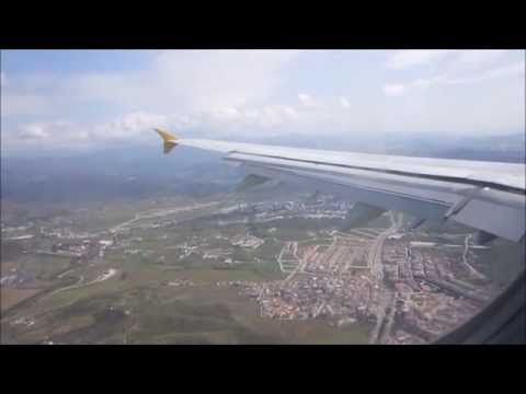 Monarch Airbus A321-231 |Manchester to Malaga |*Full Flight*