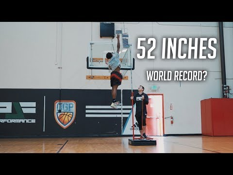 Highest Jump EVER? 52 Inch Vertical Behind The Scenes and Thoughts