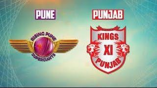 ipl 2017 rising pune supergaint vs kings xi punjab full match highlights