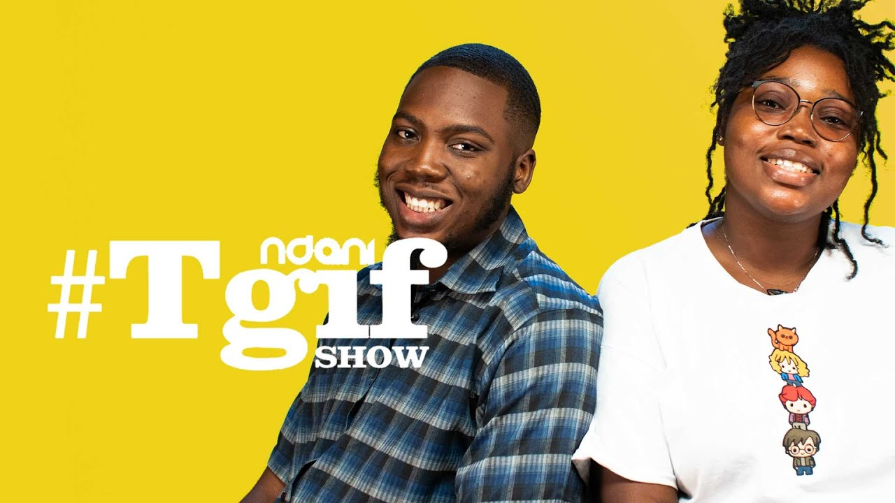 Download Content Creator O B A and Bunmi on the NdaniTGIFShow