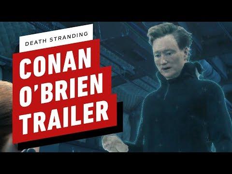 Конан О Брайен и костюм выдры в новом трейлере Death Stranding