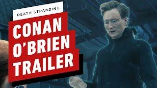 Death Stranding: Conan O'Brien Trailer (Otter Costume)