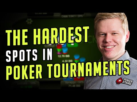 In-Depth Analysis On The Hardest Spots In Poker Tournaments W/ Spraggy
