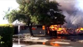 Fire at Tehama County Child Support Services Building