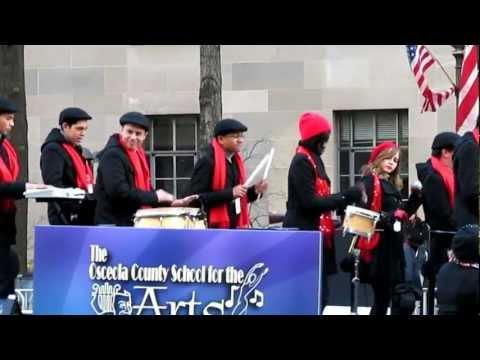 Osceola School for the Arts in Inaugural Parade