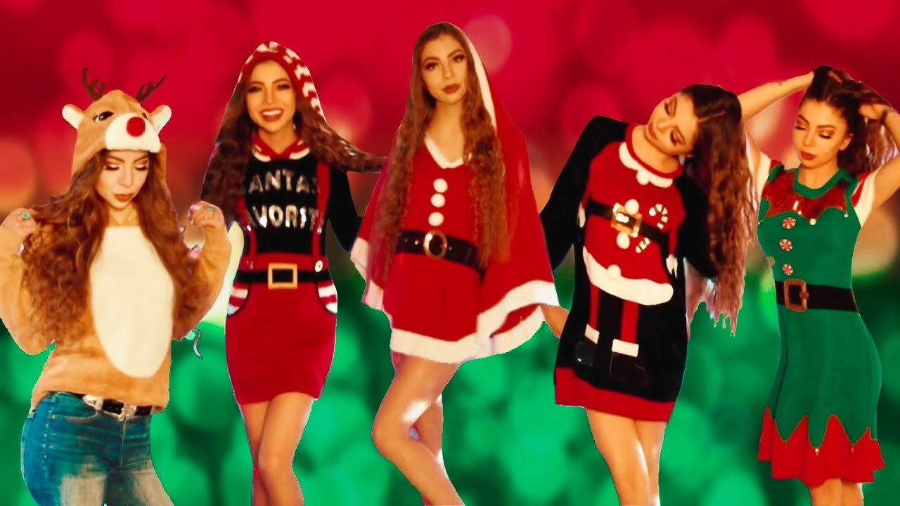 UGLY CHRISTMAS SWEATER HAUL!! #Vlogmas