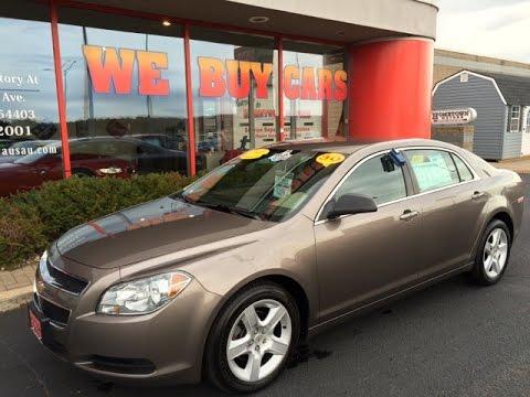 2011 Chevrolet Malibu LS Brown Hometown Motors Of Wausau Used Cars