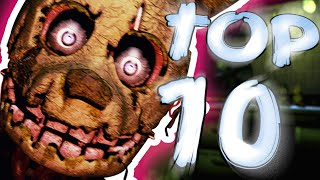 One of 8-BitGaming's most viewed videos: Top 10 Things You Missed In The FNAF 3 Teaser Trailer || Five Nights At Freddy's 3