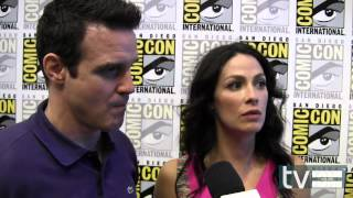 Warehouse 13 Season 4: Eddie McClintock & Joanne Kelly Interview