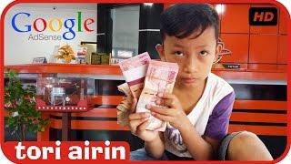 Bocah 9 Tahun Mengambil Uang Gaji Dari Google Adsense Di Kantor Pos - Tori Airin thumbnail