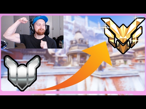 From PLATINUM To MASTER in 2 DAYS - Overwatch Gameplay #15 Rank Up