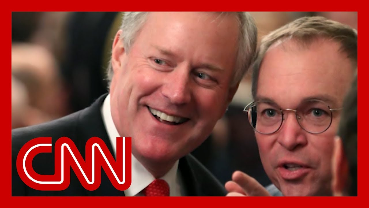 Mick Mulvaney Out, Mark Meadows In As White House Chief Of Staff