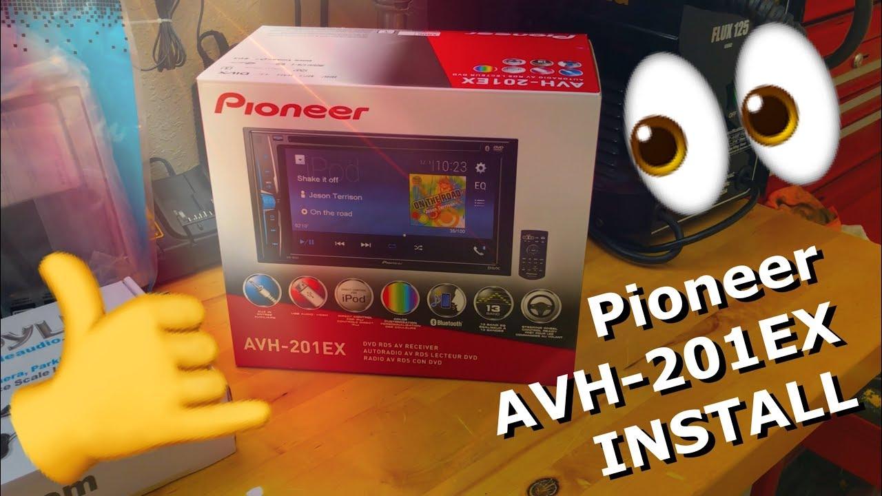 Pioneer Avh 201ex Radio Installation Thez Nutz Garage